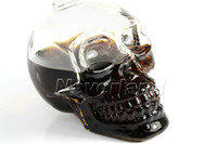 Wholesale Neverland ml ml ml Super Crystal Skull Head Vodka Glass Whiskey Beer Bar Drinking Ware