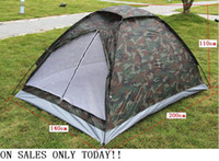 Wholesale whole sale Outdoor casual camping tent double single tier Camouflage tent rain tents lovers tent