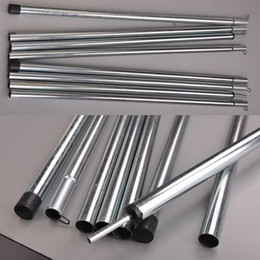 Wholesale m tent pole sections per pole steel rod for tent awning Tarp Tarpaulin TP001