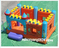 Wholesale ED OEM manufactory amusement park inflatable bouncer inflatable bounce house