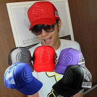 Wholesale smileseller2010 Men s Nylon Cotton Ball Caps Fashion Spring Summer Truck Hats H43