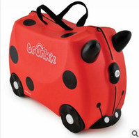 Wholesale 2014 New Arrival Fashion Children s Suitcase Hot Sale Kids Multi function Lovely Cartoon Luggages
