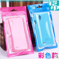 For Apple iPhone   Zipper Retail Plastic Bags Packaging Package dust proof bag case cover for iphone 5 5S 5C 5G 4 4S Charger USB cable earphones free shipping