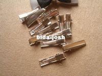 Wholesale DIY hair accessories Duckbill clips Open folder DIY accessories materials mm mm MOQ is