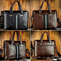 Wholesale wowsexy2010 New Mans Cool Faux Real Leather Briefcase Tablet PC Messenger Bag Tote Bag AR166