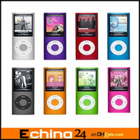 Wholesale MP4 player with LED screen FM function earphone charging cable Retail box