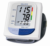 Wholesale simple fully automatic Wrist Blood Pressure Monitor DXJ s