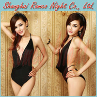 Wholesale Sexy Dreamily Elastic Curve Satin Lace Hot Lingerie Women Sexy Suit Body Costumes
