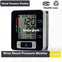 Wholesale Automatic Digital Wrist Blood Pressure and Pulse Monitor Sphygmomanometer Portable Blood Pressure Monitor