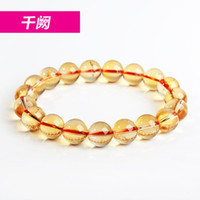 Cheap Que authentic imported thousands of men and women of the Brazilian citrine bracelet natural crystal jewelry Lucky to help transport