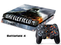 PS4   Vinyl Decal Skin Stickers Wrap For PS4 Play Station 4 Console+ Controllers-Battlefield 4-0010