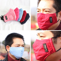 Wholesale Winter Fashion Thermal Mask PM2 Windproof Guard Mouth Masks With Adjustable straps colors Face Masks