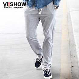 Wholesale viishow large size sports pants men harem pants feet pants Autumn Korean Slim casual pants influx of men dress