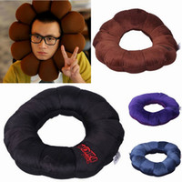 Wholesale Home Multifunctional Plum Blossom Pillow Soft Doughnut Back Cushion Style Choose ZHD