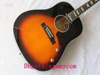 Wholesale j160 new style acoustic electric guitar withcase