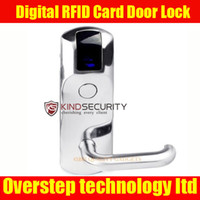 Wholesale Digital RFID Card Door Lock For Hotel Home Use With Deadbolt And Anti card Latch