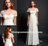 Reference Images Sweetheart Chiffon High Quality Cap Sleeve Lace Applique Chiffon Sheer Top Eden Bridal Full Length Long Prom Dance Dresses Formal Ball Evening Gown AQ914