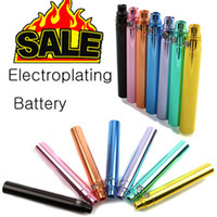 Wholesale eGo batteries for eGo CE4 electronic cigarettes Electroplating Battery for All EGO Series CE4 CE5 VIVI Vova DCT MT3 EGO T EGO W EGO C