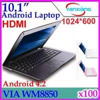 Wholesale DHL inch VIA android laptop M GB Mini Laptop HDMI RW L01