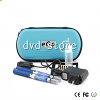 Electronic Cigarette Atomizer  Hot eGO CE4 double kit CE4 Atomizer Clearomizer 650mah 900mah 1100mah ego-T battery E-Cigarettes ego kits in Zipper carrying Case DHL 10pcs