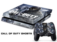 PS4   Vinyl Decal Skin Stickers Wrap For PS4 Play Station 4 Console+ Controllers-Call of Duty Ghosts-0016