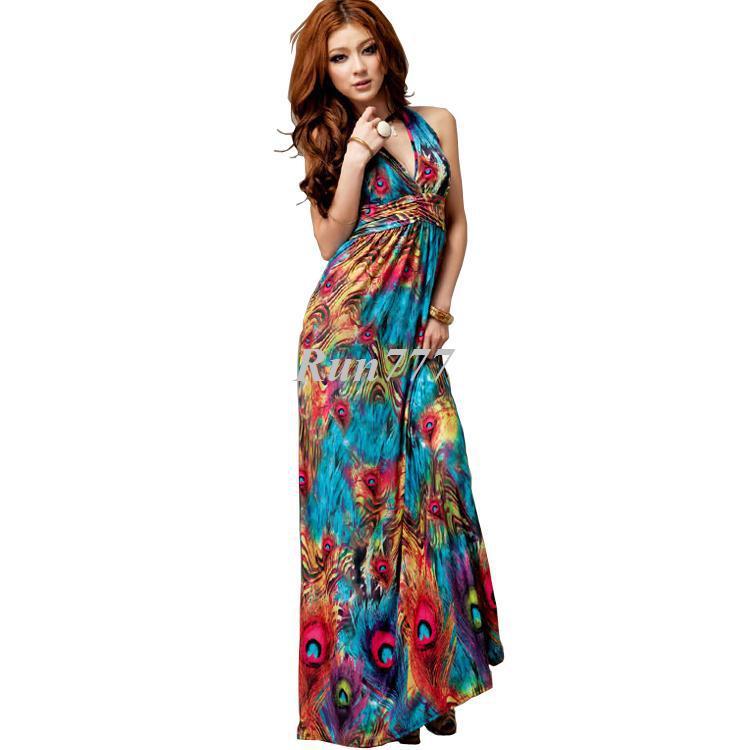 Plus Size Long Maxi Dresses Cheap - Holiday Dresses