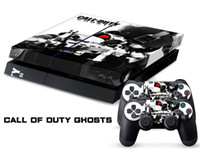 PS4   Vinyl Decal Skin Stickers Wrap For PS4 Play Station 4 Console+ Controllers-Call of Duty Ghosts-0017
