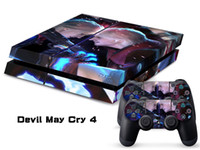 PS4   Vinyl Decal Skin Stickers Wrap For PS4 Play Station 4 Console+ Controllers-Devil May Cry 4-0018-0018