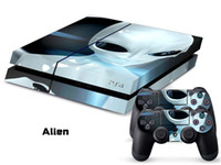 PS4   Vinyl Decal Skin Stickers Wrap For PS4 Play Station 4 Console+ Controllers-Alien-0024