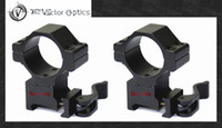 Wholesale Vector Optics Tactical mm Quick Release Medium Riflescope QR mm Picatinny Mount Ring fit Leupold BSA Leapers NightForce etc