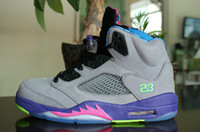 Wholesale Top Quality Mens Bel Air Retro Basketball Shoes Athletic Air Trainers Size