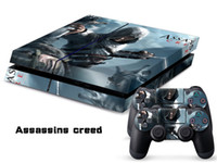 PS4   Vinyl Decal Skin Stickers Wrap For PS4 Play Station 4 Console+ Controllers-Assassins Creed-0025