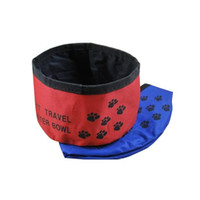 Wholesale Pet Folding water bowl Portable pet water bowl Dog bowl