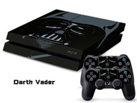 PS4   Vinyl Decal Skin Stickers Wrap For PS4 Play Station 4 Console+ Controllers-Darth Vader-0029