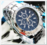Wholesale Popular and Fashion Stainless Quartz Men s Wrist Watch colors Quartz watches for Men at low price but high quality