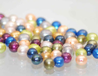 Wholesale Freshwater Pearl Perfect Clean Pearl Full Strand AAA MM Natural Mixes Color Round Off Potato Pearl Reduced From