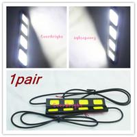Cheap 3 LED COB DRL light Best White 12V day time running light