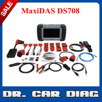 Wholesale Authorized Distributor X431Auto diag for Gift Original Autel Maxidas DS708 DS Universal Diagnostic Scanner Multi Languag