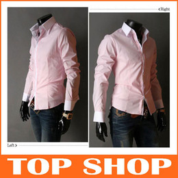 Wholesale Men s exports minimalist trend Slim casual shirts men s shirts