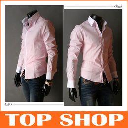 Wholesale Men s exports minimalist trend Slim casual shirts men s shirts