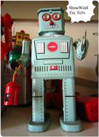 Cheap Unisex Tin Toys Best Big Kids Robots Robot