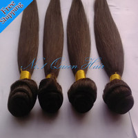 Wholesale Remy Brazilian virgin hair weave silky straight pure human hair extension natural color mixed length queen hair products