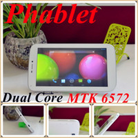 Wholesale JW Free DHL quot TD786 A13 Phablet MTK6572 Dual Core Ghz Android Tablet PC GPS Bluetooth WIFI Dual Sim dual Camera mobile cell phone