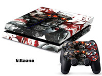 PS4   Vinyl Decal Skin Stickers Wrap For PS4 Play Station 4 Console+ Controllers-Killzone-0036
