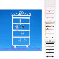 Cheap Wholesale High Quality Metal Earring Display Stand Holder 48 Holes DTB-BFES-02
