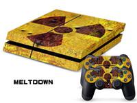 PS4   Vinyl Decal Skin Stickers Wrap For PS4 Play Station 4 Console+ Controllers-Mel Tdown 0039