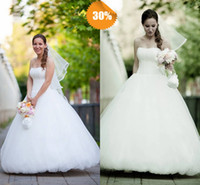 Wholesale Excellent Sweetheart Lace Up Ball Gown Floor Length Organza Pleated Zuhair Murad Church Wedding Dresses Bling Pearl Beaded Bridal Gowns