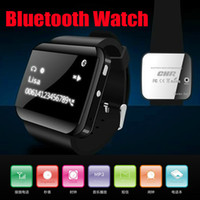 Wholesale Fashion U Watch Bluetooth Watch Wrist bracelet Bangle Speaker Phone Call MP3 LED Time alarm Smart Watch For iPhone S galaxy note Phone