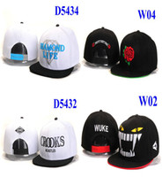 Wholesale EMS New arrival motivation and diamond snapback hats ball caps adjustable I Love Hater hat snapbacks