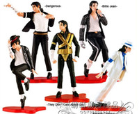 Wholesale Michael Jackson plastic toys classic style collection of favorite doll hand to do all five models hugging shape box retail